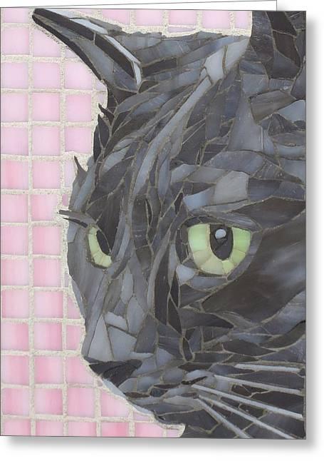 My Shadow Greeting Card by Linda Pieroth Smith