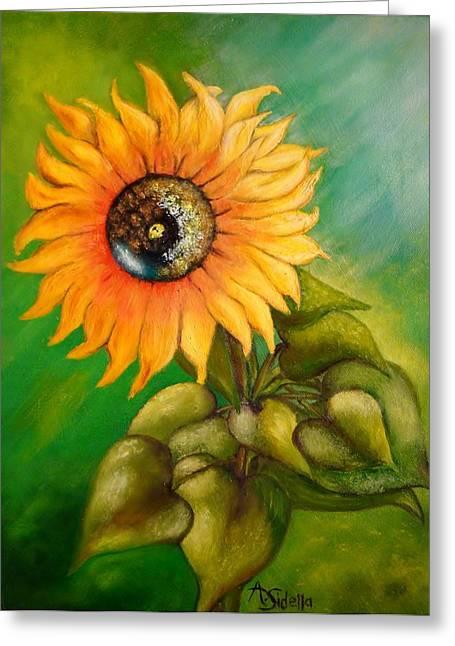 My Sunshine Greeting Card by Annamarie Sidella-Felts