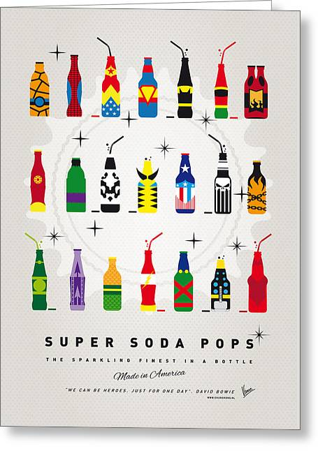 My Super Soda Pops No-00 Greeting Card