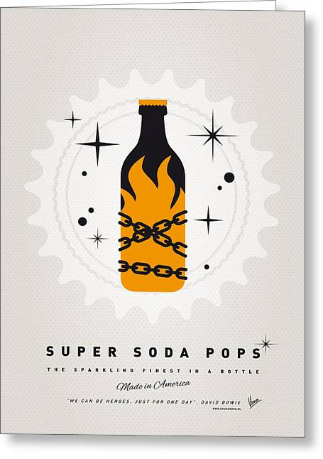 My Super Soda Pops No-16 Greeting Card by Chungkong Art