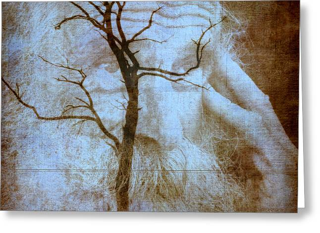 My Thinking Tree Greeting Card by Irma BACKELANT GALLERIES