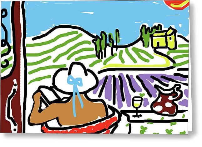 My Tuscany Dream 2 Greeting Card