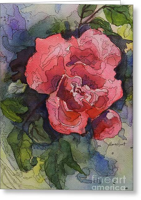 Oh Glorious, Radiant Rose Greeting Card