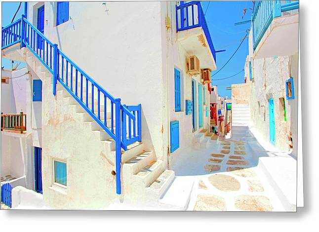 Mykonos IIi (from The Series postcards From Greece) Greeting Card