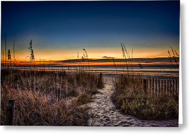 Myrtle Beach Path Greeting Card