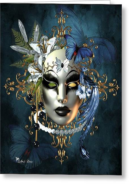 Mysteries Of The Mask 1 Greeting Card