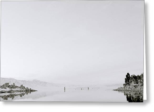 Still Waters Greeting Card by Shaun Higson