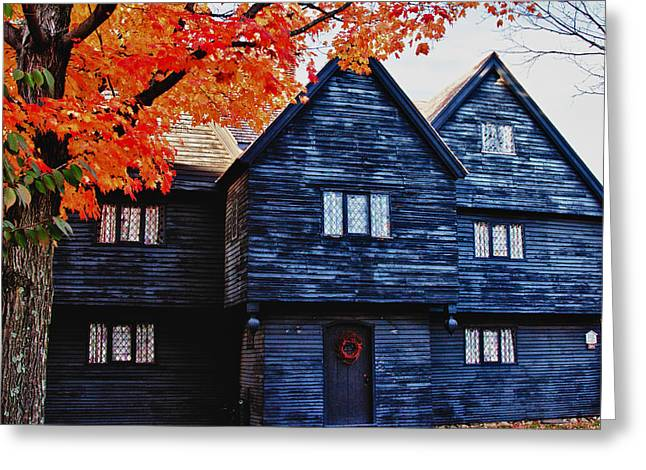 Mysterious Salem Greeting Card by Jeff Folger