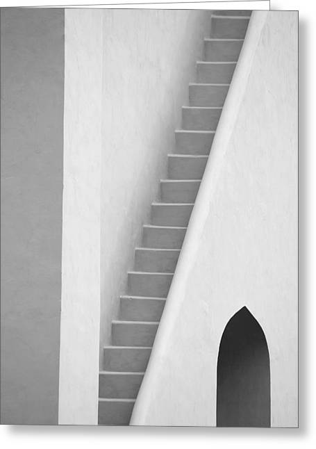 Mysterious Staircase Greeting Card
