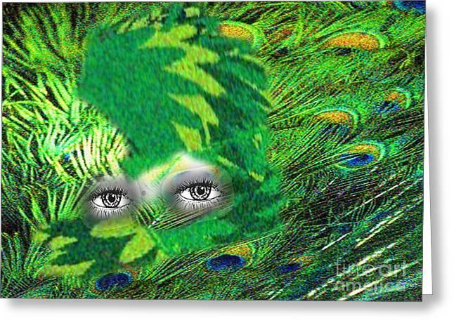 Mystery Greeting Card by Belinda Threeths
