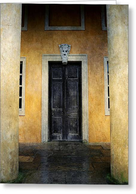 Mystery Entrance  Greeting Card by Svetlana Sewell