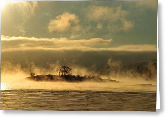 Greeting Card featuring the photograph Mystery Island by Randi Grace Nilsberg