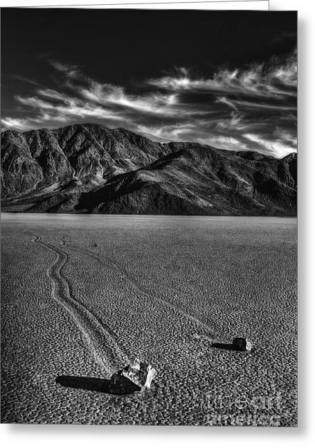 Mystery Of The Playa Greeting Card