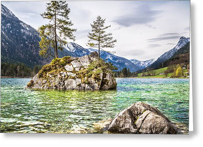 Mystic Bavaria Greeting Card by JR Photography