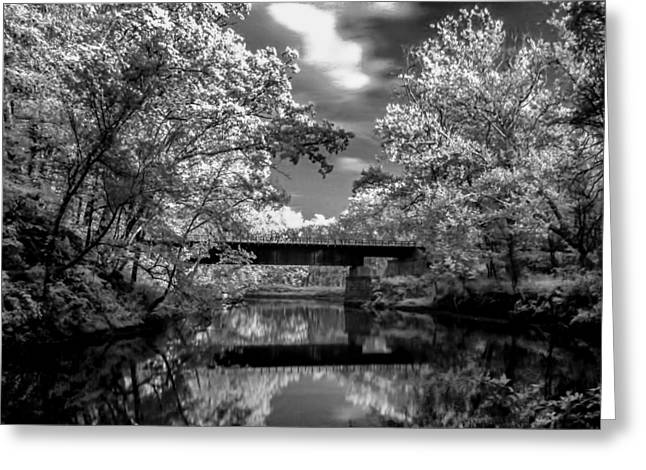 Greeting Card featuring the photograph Mystic Cuyahoga by David Stine