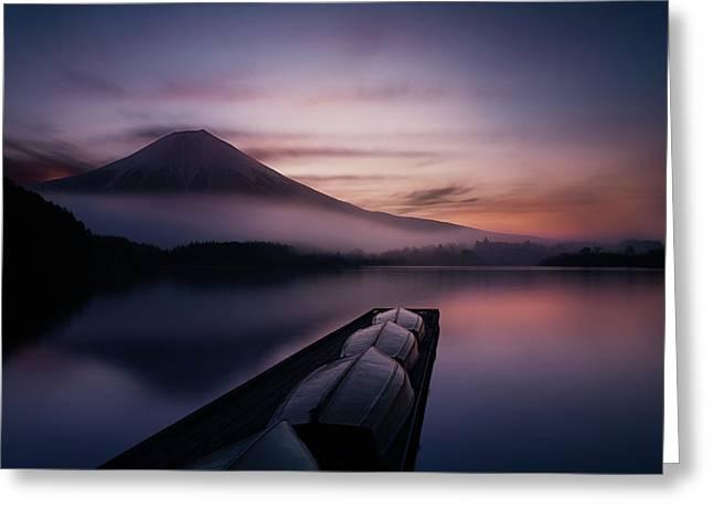 Mystic Fuji Greeting Card