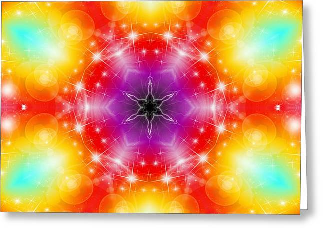 Mystic Karma Greeting Card