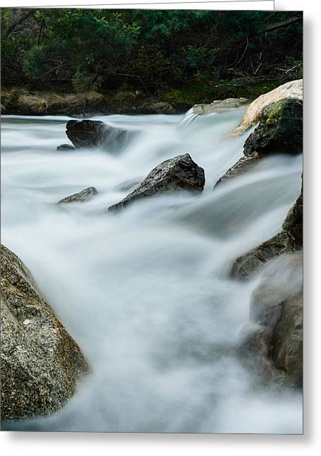 Mystic River V Greeting Card