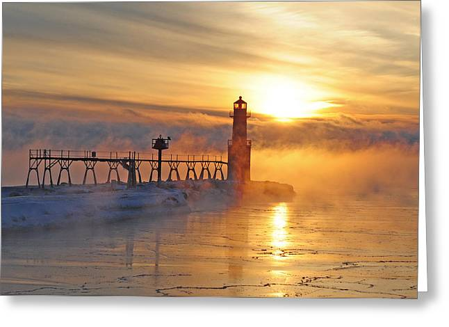 Mystic Sunrise Greeting Card
