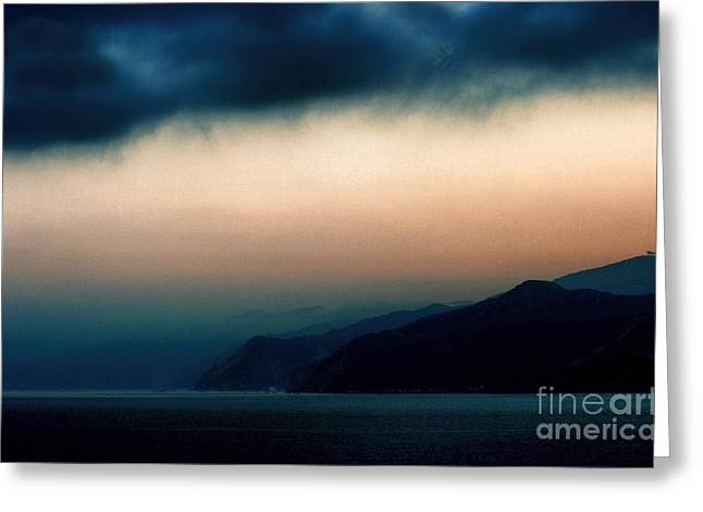 Mystical Sunrise Greeting Card