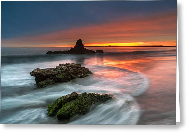 Mystical Sunset 2 Greeting Card