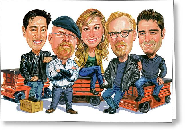 Mythbusters Greeting Card by Art