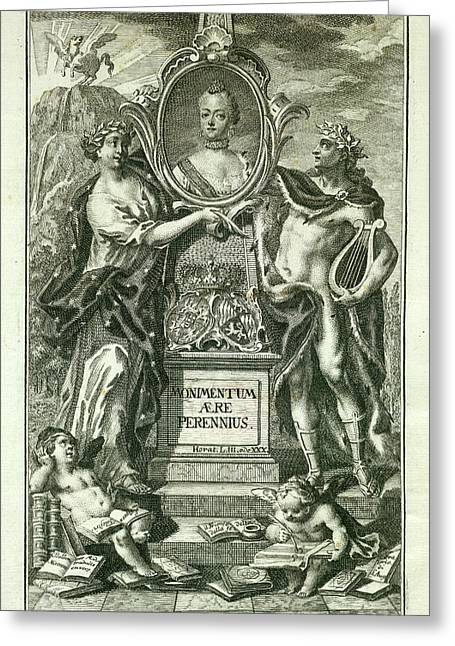 Mythical Figures Greeting Card by British Library
