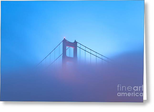 Greeting Card featuring the photograph Mythical Gate by Jonathan Nguyen