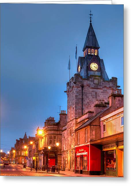 Nairn High Street Greeting Card