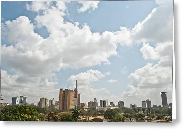 Nairobi Kenya Greeting Card
