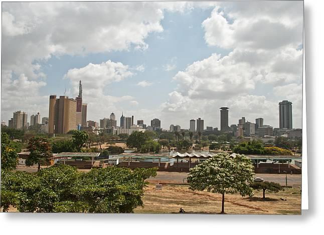 Nairobi Panorama Greeting Card