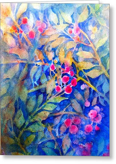 Nandina Greeting Card