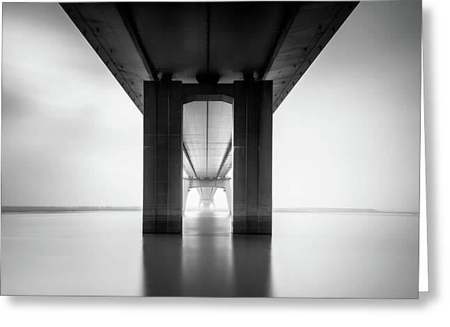 Nanjing Yangtze River Bridge Greeting Card