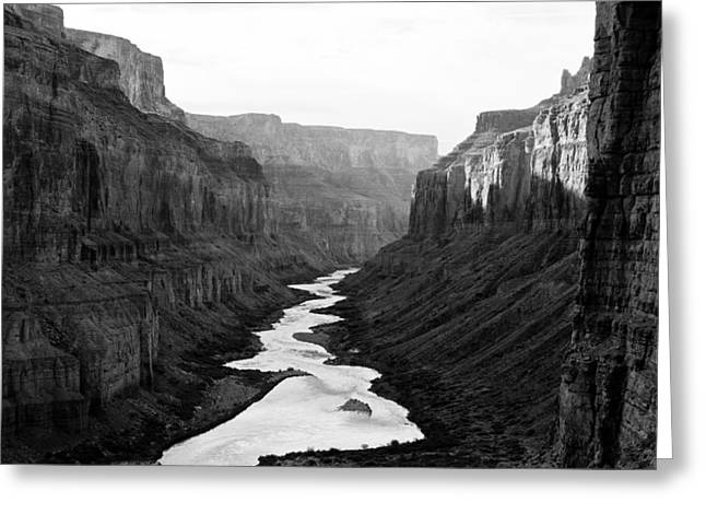 Greeting Card featuring the photograph Nankoweap B-w by Atom Crawford
