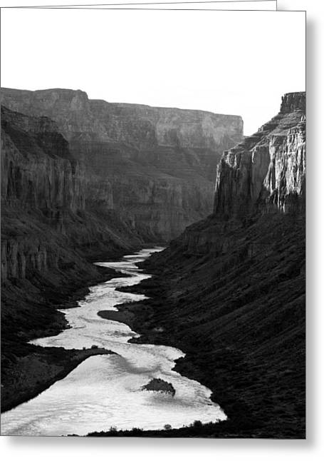 Greeting Card featuring the photograph Nankoweap Grand Canyon by Atom Crawford