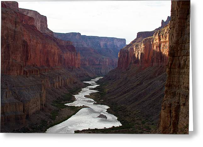 Greeting Card featuring the photograph Nankoweap Grand Canyon Color by Atom Crawford