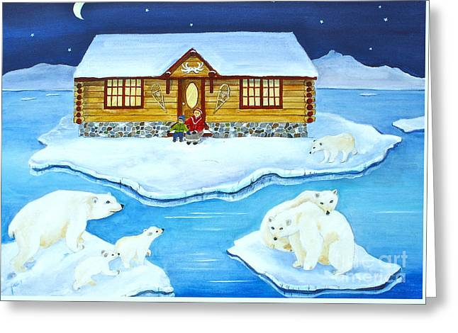 Nanook Of The North Greeting Card
