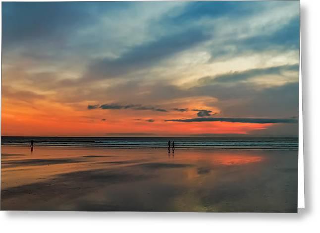 Nantasket Beach Sunrise Greeting Card