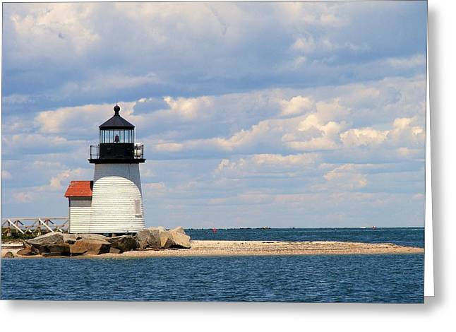 Nantucket Harbor Greeting Card