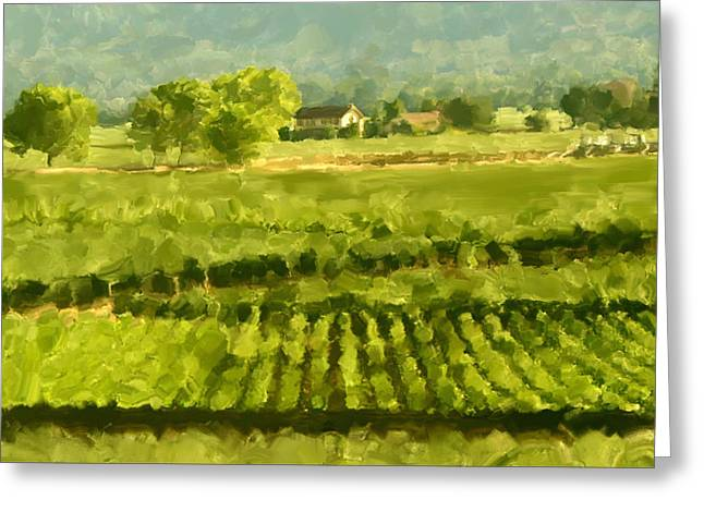 Napa Detail Greeting Card by Paul Tagliamonte
