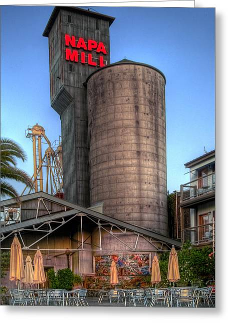 Napa Mill II Greeting Card by Bill Gallagher