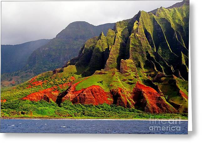 Napali Coast II Greeting Card