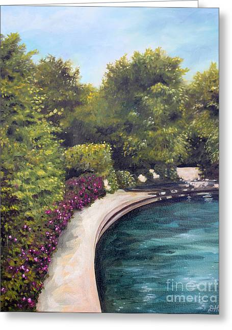 Naperville Riverwalk II Greeting Card