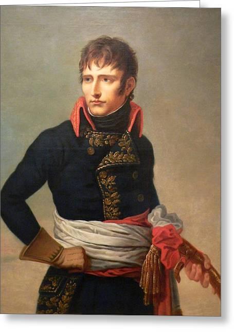 Napoleon Bonaparte As First Consul Greeting Card