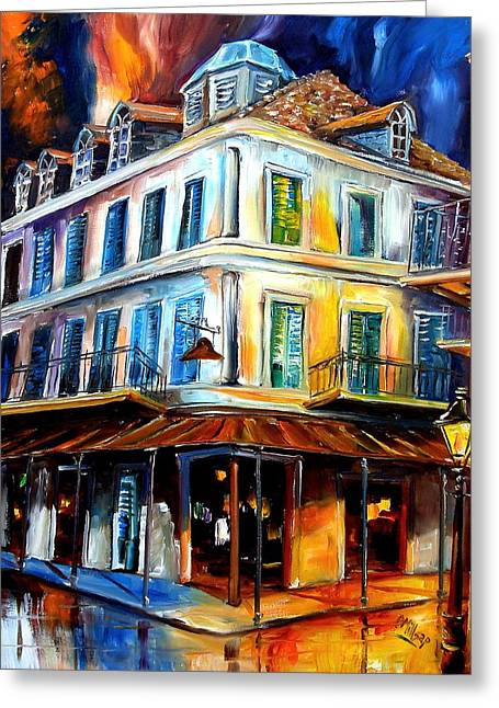 Napoleon House Greeting Card by Diane Millsap