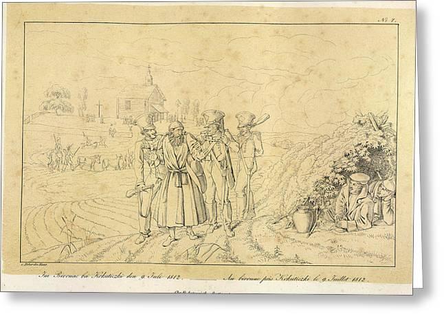 Napoleon's Grand Armee Greeting Card