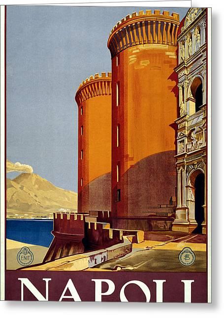 Napoli Italy Greeting Card