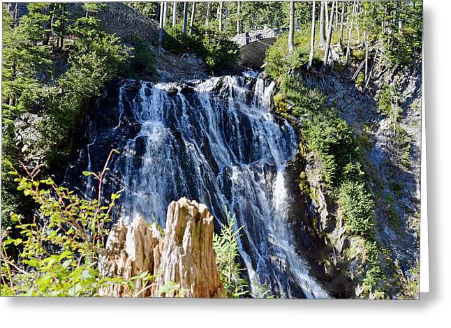 Narada Falls Greeting Card