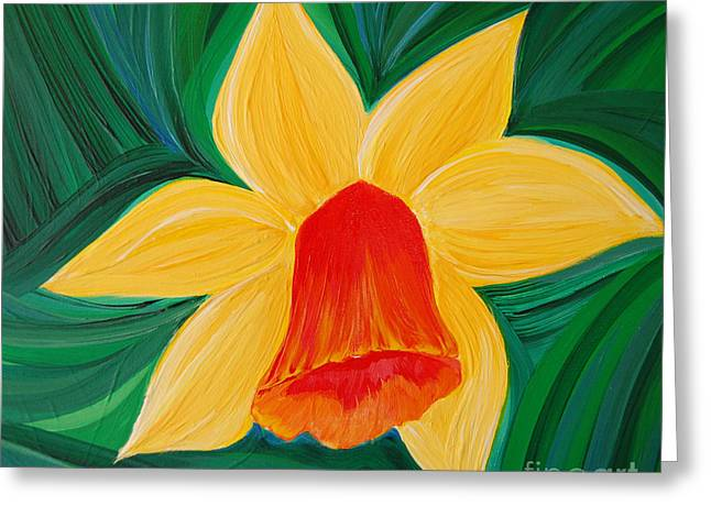 Narcissus Diva By Jrr Greeting Card by First Star Art