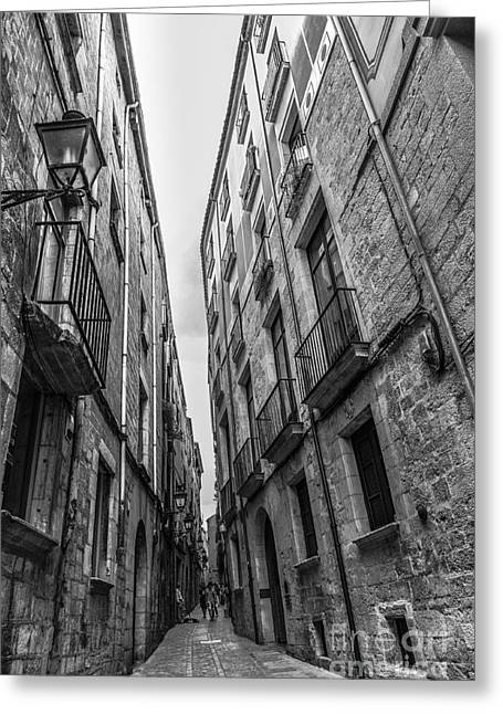 Narrow Streets Of Spain Greeting Card